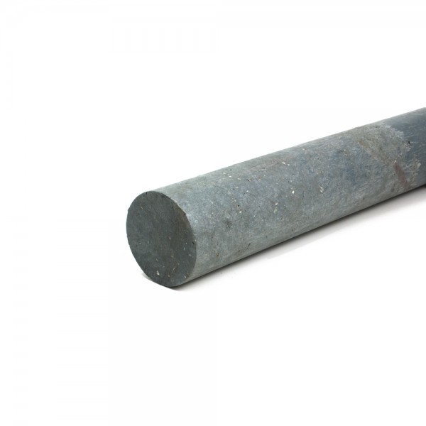 Solid Round Grey 60mm diameter x 2.5m post with a point