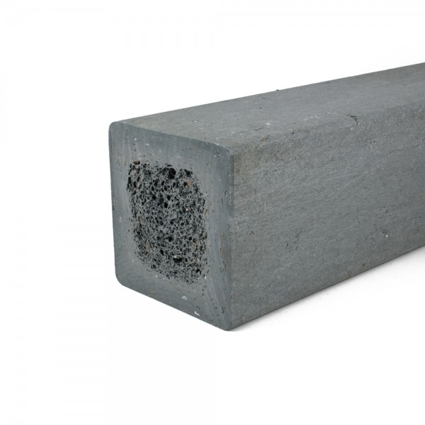 Square post Grey 150mm x 150mm x 1.5m
