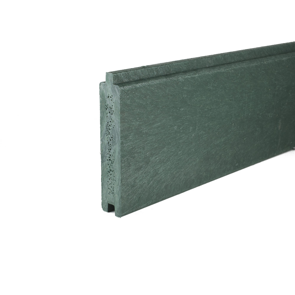 Tongue and Groove plank Green 28mm x 130mm x 2.8m