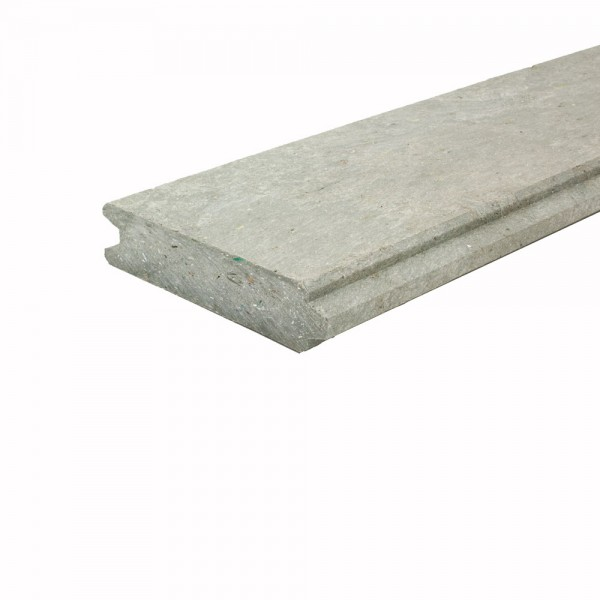 Tongue and Groove plank Grey 30mm x 125mm x 1.4m