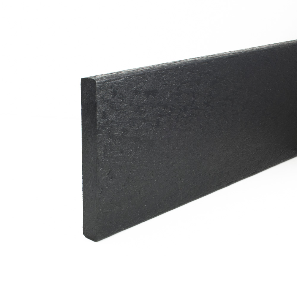 Flexible Edging Plank Black 18mm x 140mm x 3m