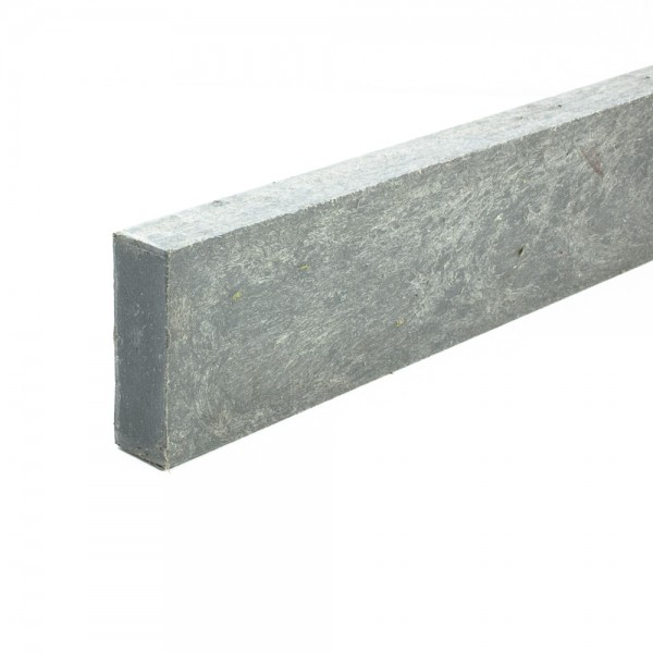 Recycled plastic plank Grey 20mm x 60mm x 1.5m