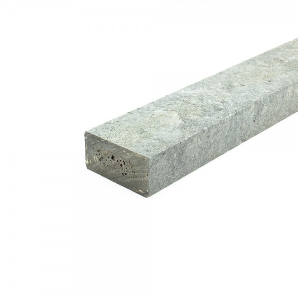 Recycled plastic plank Grey 30mm x 60mm x 2m