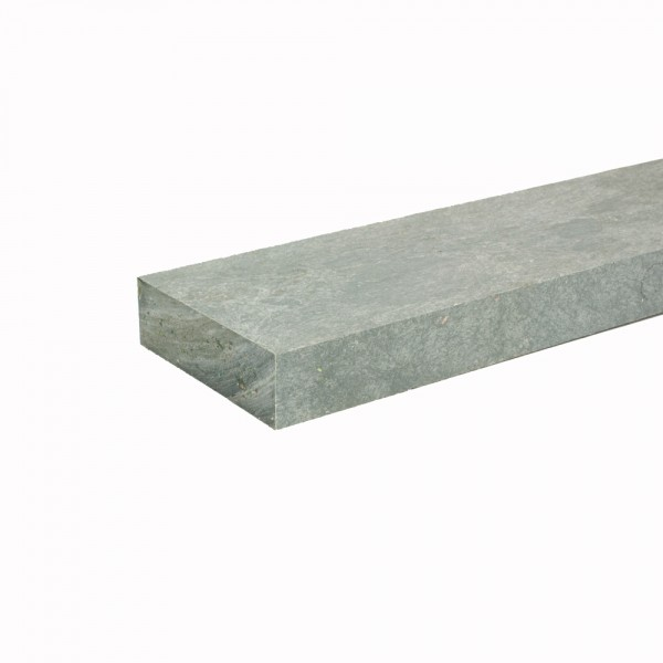 Recycled plastic plank Grey 30mm x 100mm x 2m