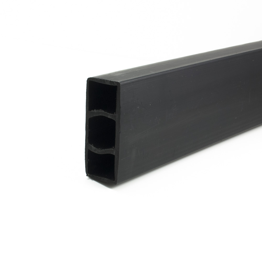 Hollow black plank Black 38mm x 90mm x 3.6m