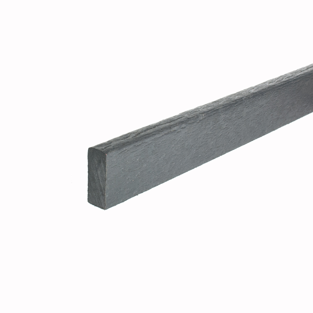 Black 18mm x 42mm x 3m Mini Flexible Edging Plank