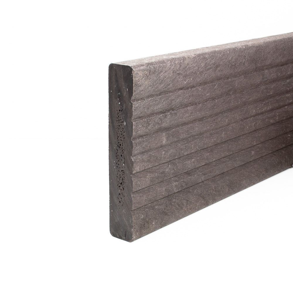 Recycled plastic decking filcris ltd for Plastic decking boards