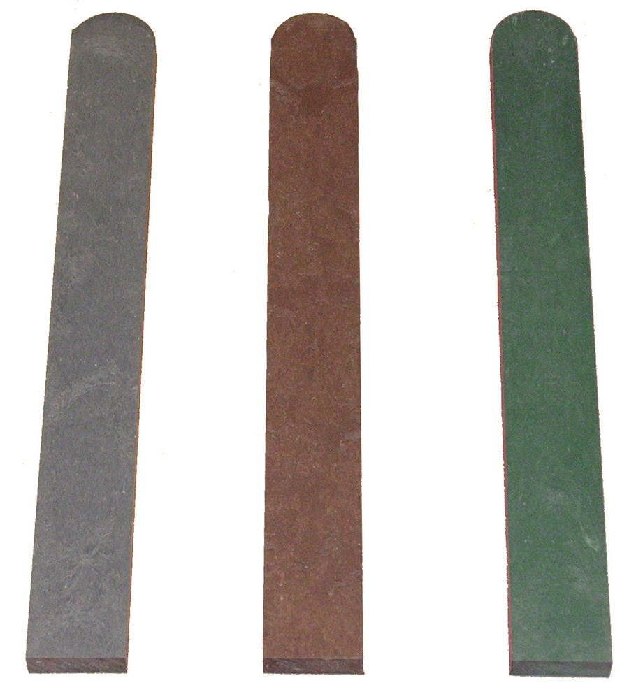 Fence Pale with Round End Green 20mm x 60mm x 800mm