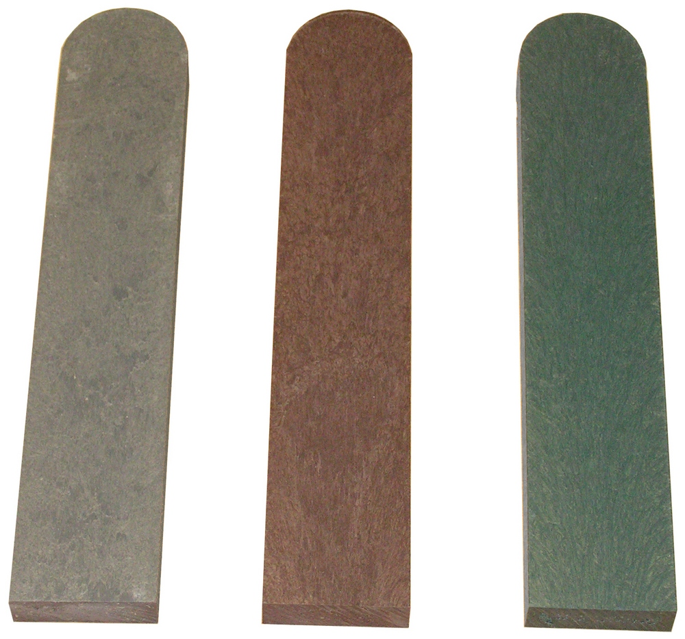 Fence Pale with Round End Brown 30mm x 100mm x 1200mm