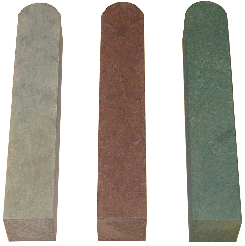 Fence Post with Round End Brown 90mm x 90mm x 1000mm
