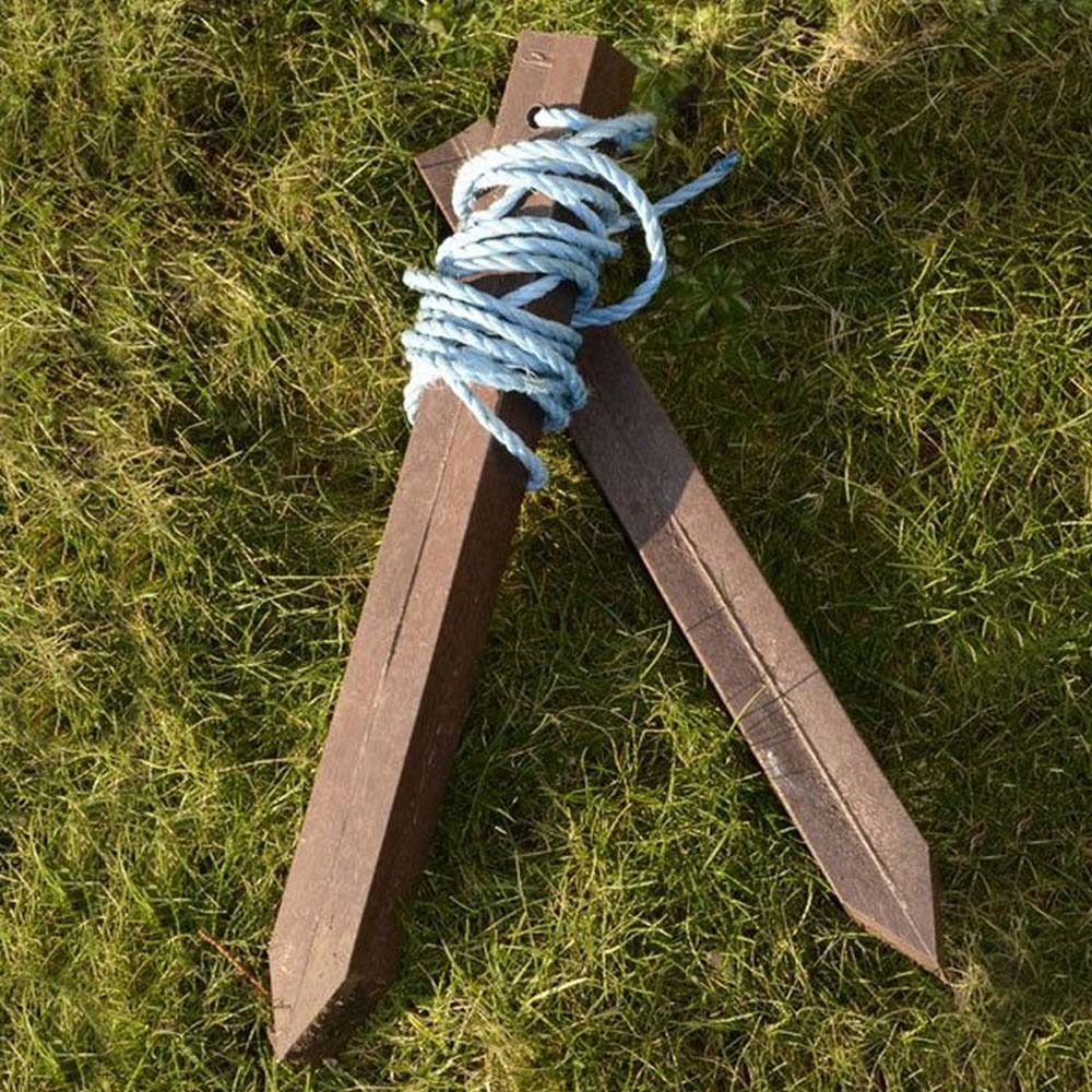 Mink Raft Tethering Kit - rope and stakes