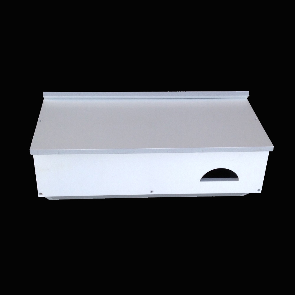 Paintable Cambourne Swift Box Assembled White 42cm x 21cm x 22cm