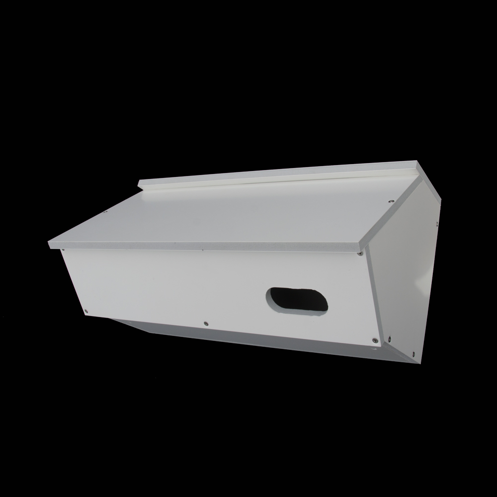 Paintable Zeist Swift Box Assembled White 42cm x 21cm x 22cm