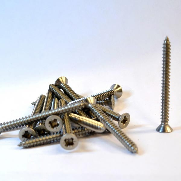 Stainless steel wood screw 3.5mm x 40mm Countersunk