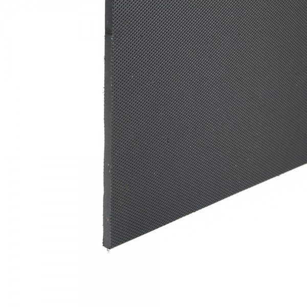 Stokbord Embossed LDPE Black 6mm x 0.6m x 1.22m sheet