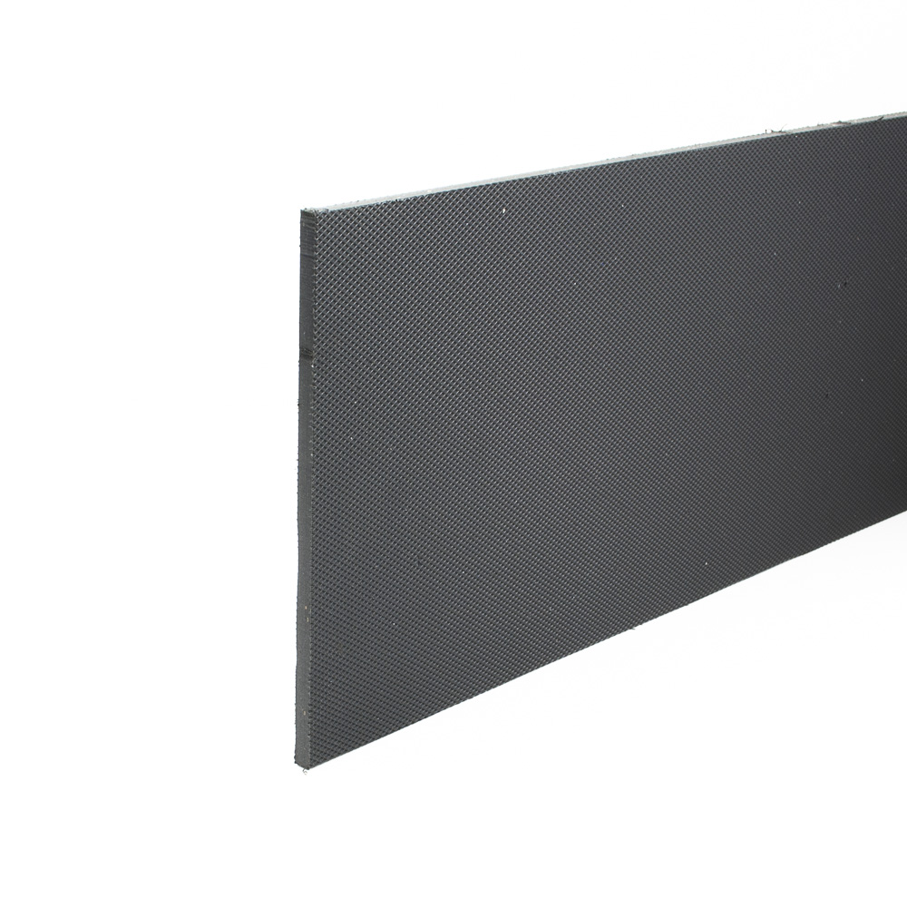 Stokbord Embossed LDPE Black 6mm x 1.2m x 1.22m sheet