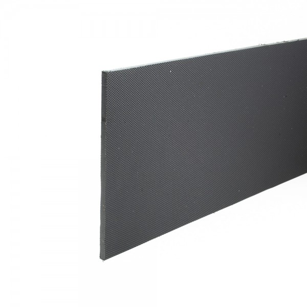 Stokbord Embossed LDPE Black 6mm x 1.22m x 2.44m sheet