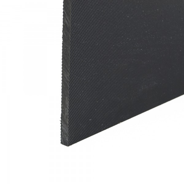 Stokbord Embossed LDPE Black 9mm x 1.22m x 2.44m sheet
