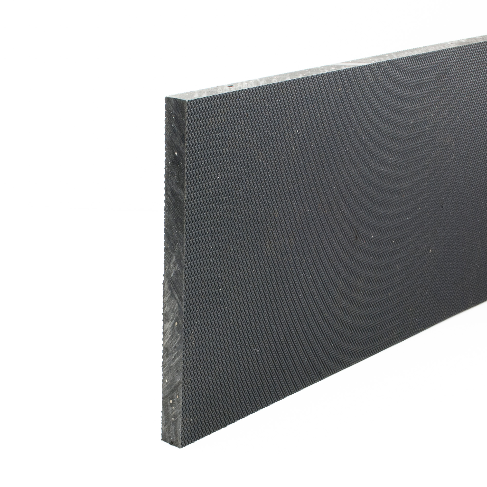 Stokbord Embossed LDPE Black 12mm x 0.6m x 1.22m sheet