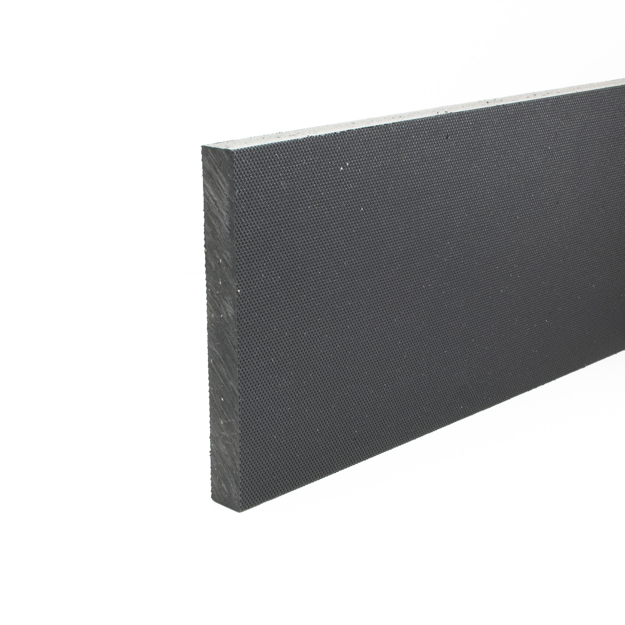 Stokbord Embossed LDPE Black 18mm x 1.22m x 1.22m sheet