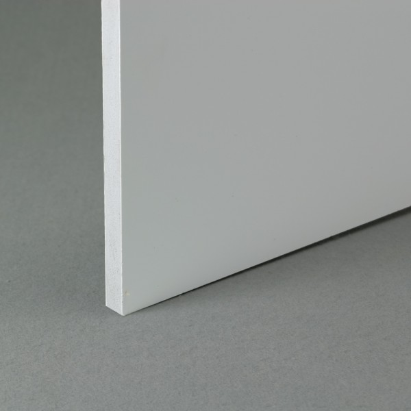 White recycled pvc waterproof construction board 10mm x 1.22m x 1.22m