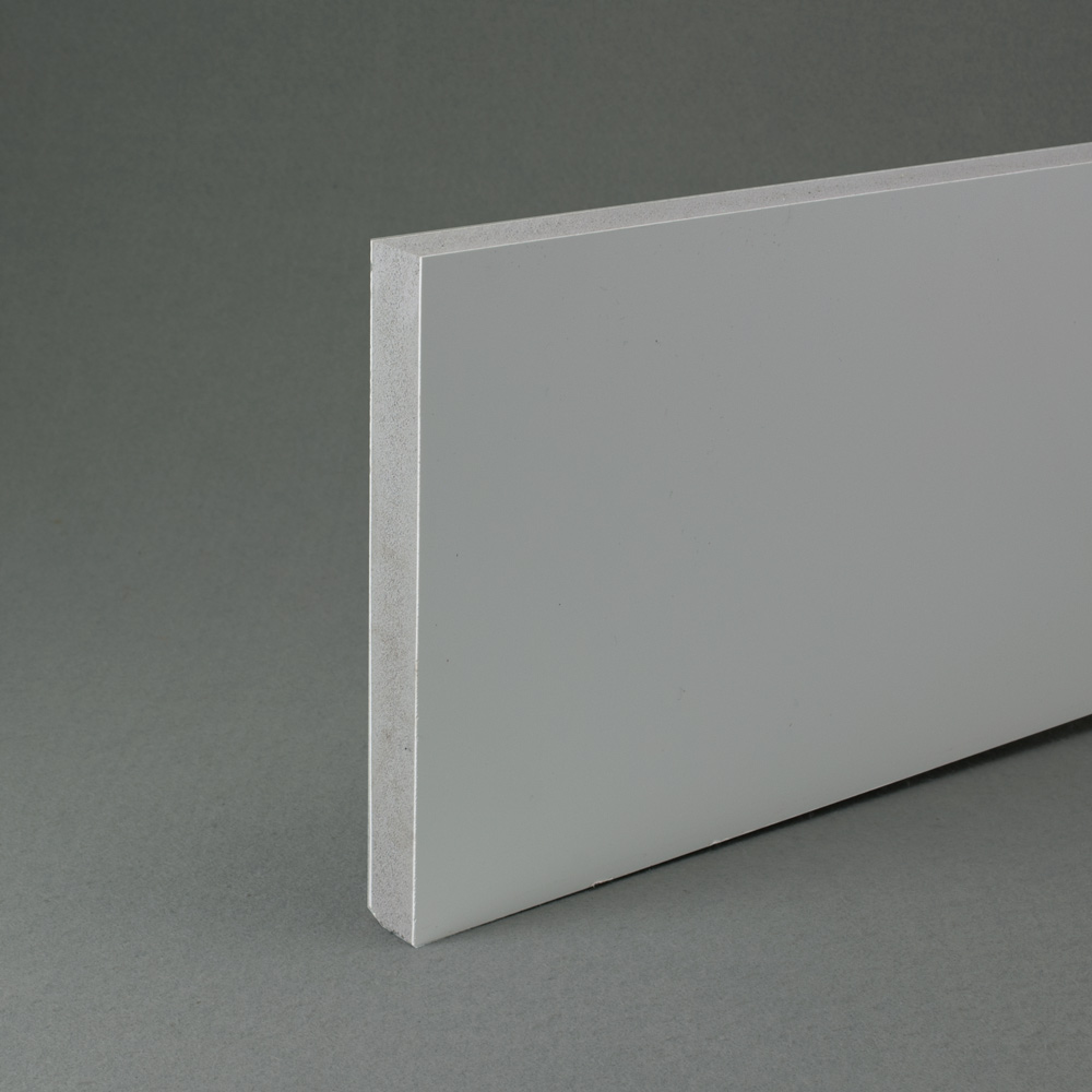 White recycled pvc waterproof contstruction board 18mm thick