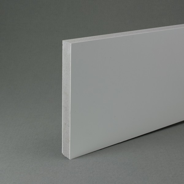 White recycled pvc waterproof contstruction board 18mm x 1.22m x 1.2m