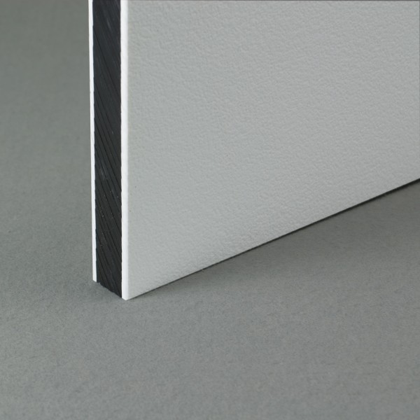 Coextruded HDPE Engraving Board White / Black / White 19mm x 1.22m x 1.20m