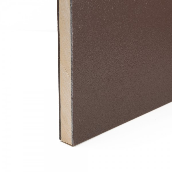 Coextruded HDPE Engraving Board Brown / Cream / Brown 18mm x 1.22m x 1.22m