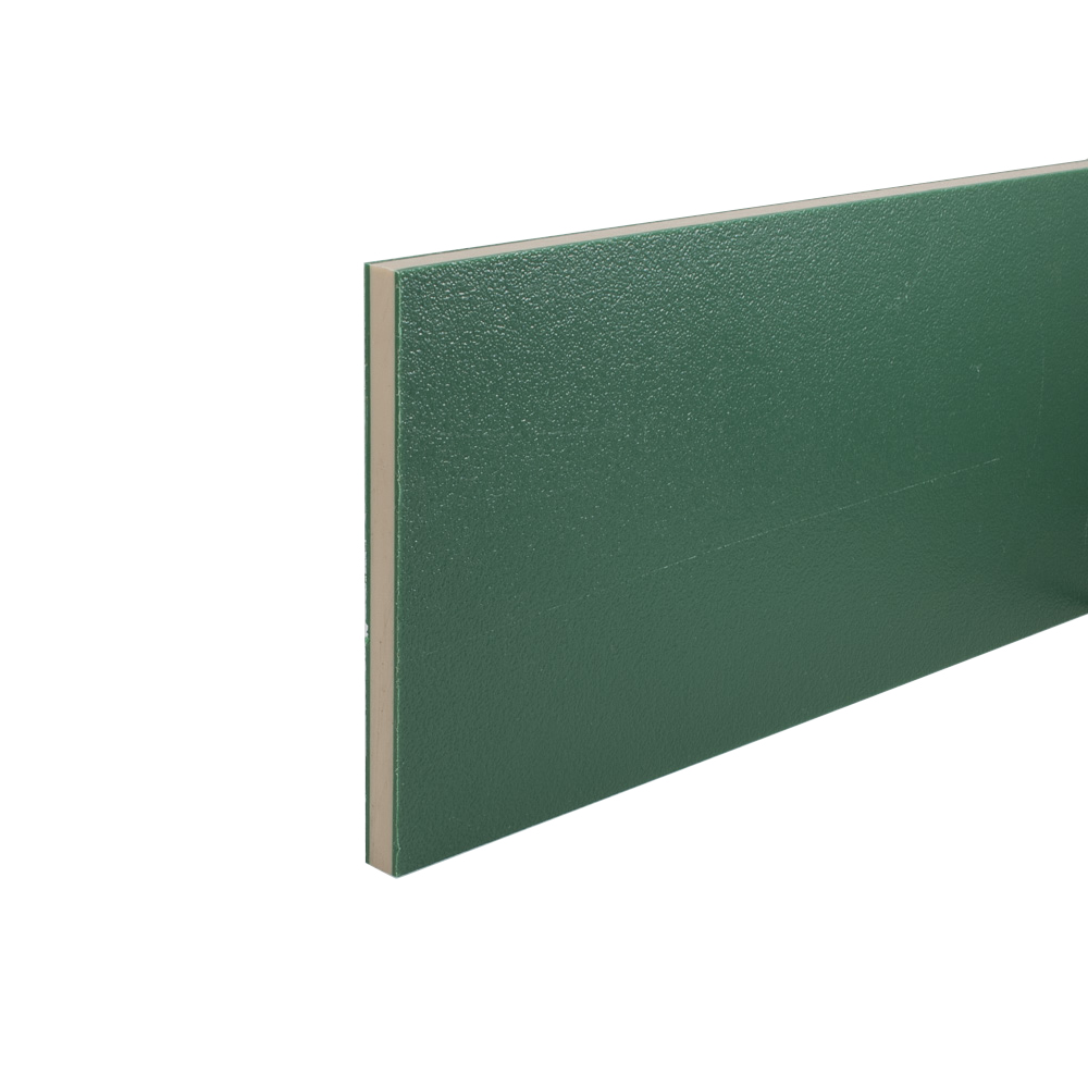 Coextruded HDPE Engraving Board Green / Cream Green 12mm thick sheet