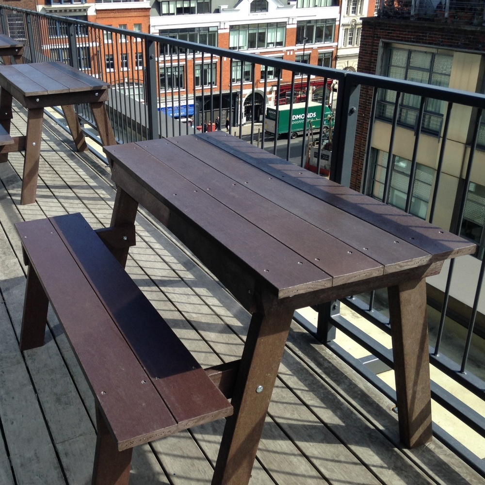 Tables and picnic tables