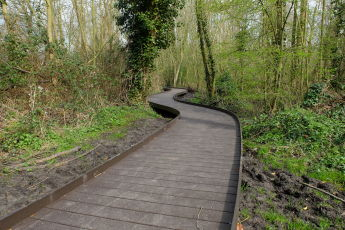 Recycled Plastic Boardwalk
