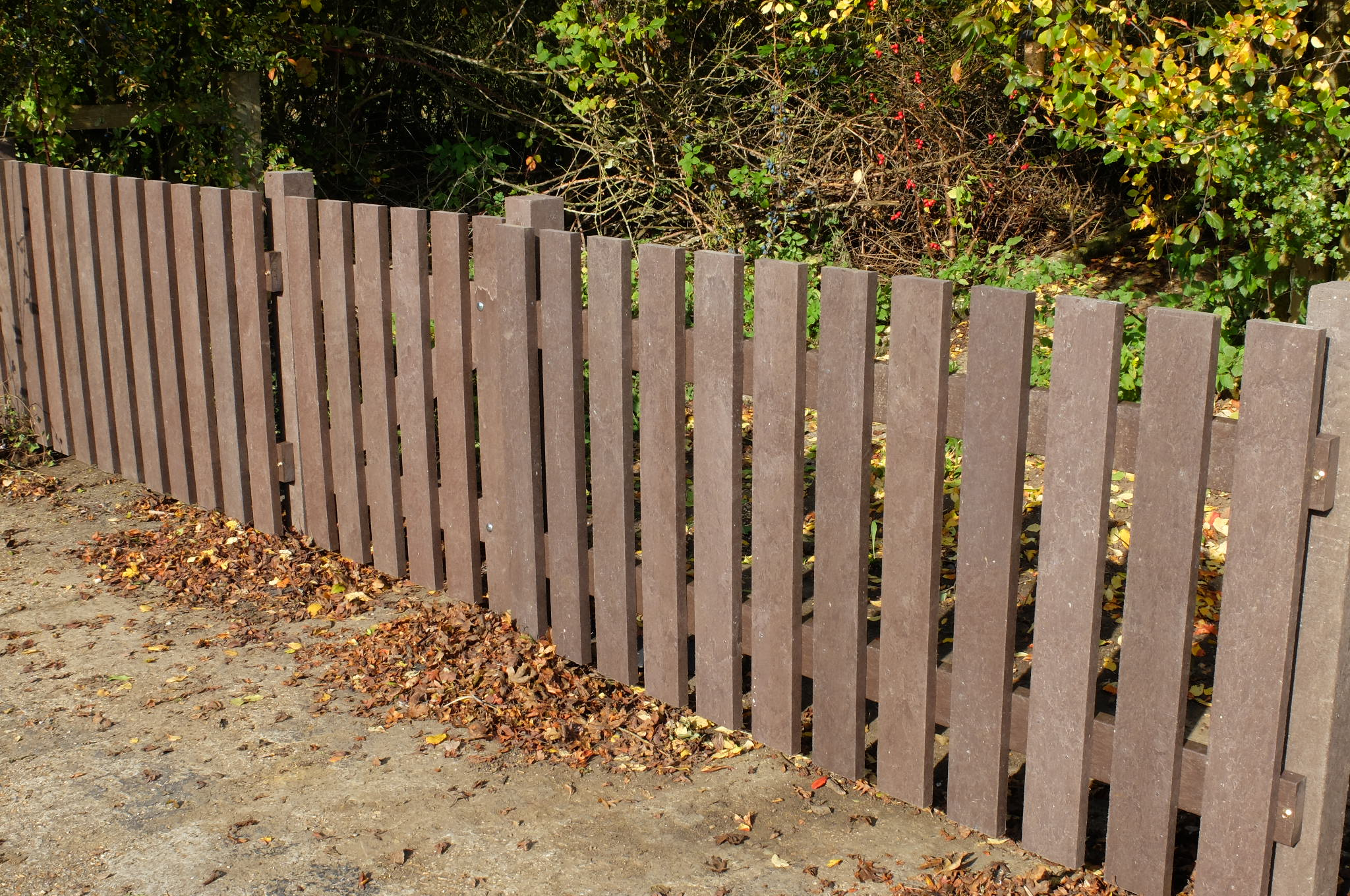 Half price offer on fencing pales
