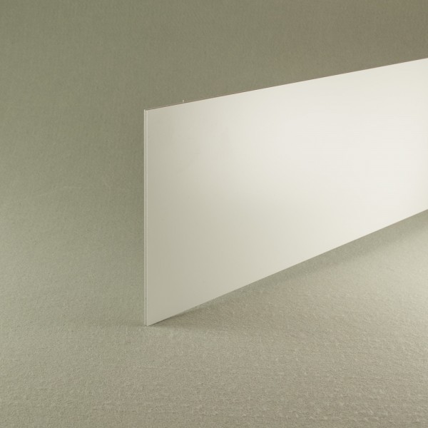 White recycled pvc waterproof construction board 3mm x 1.22m x 0.6m