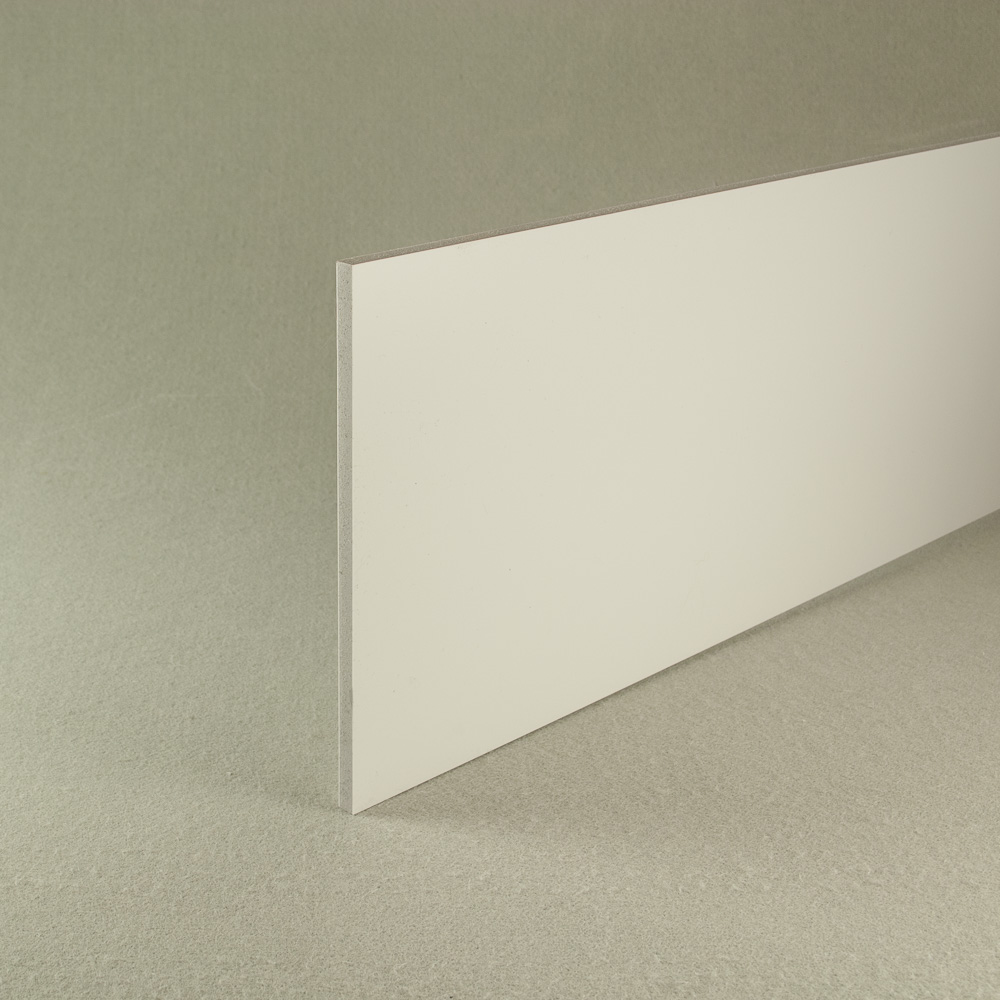 White recycled pvc waterproof construction board 6mm x 1.22m x 0.6m