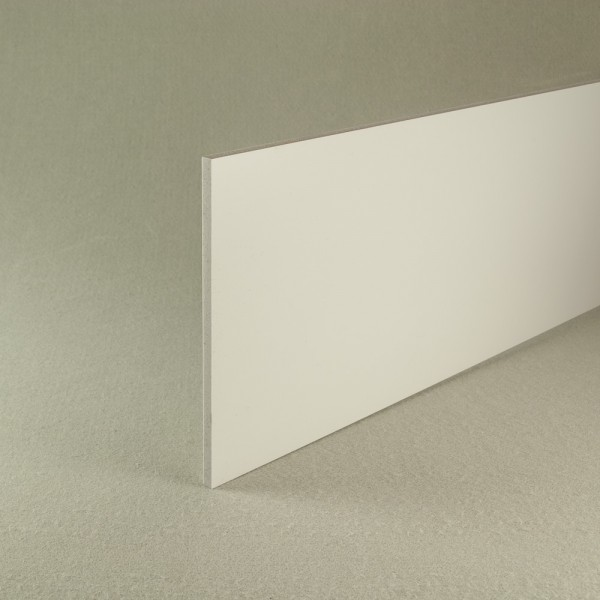 White recycled pvc waterproof construction board 6mm x 1.22m x 2.44m