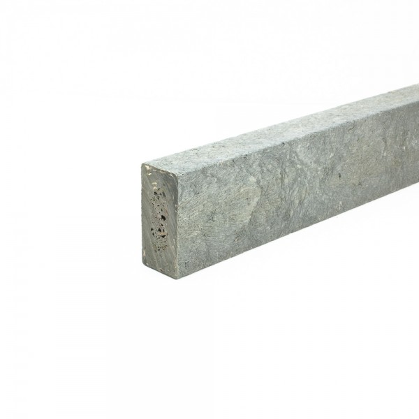 Recycled plastic plank Grey 25mm x 50mm x 3m