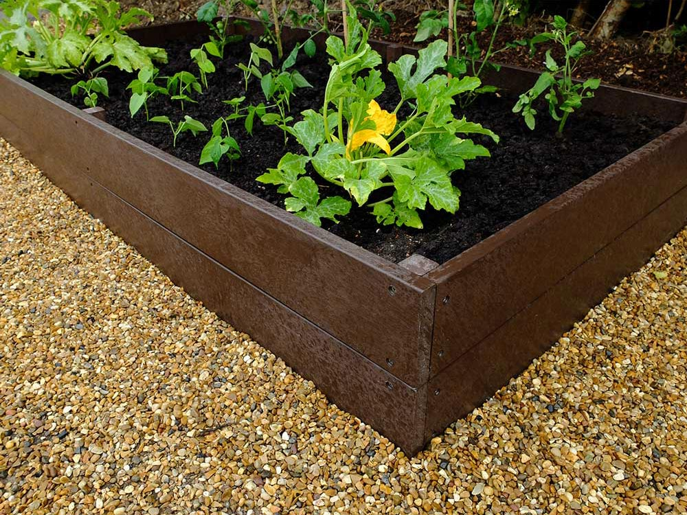 Raised Growing Bed 1m x 2m x 30cm Flat packed