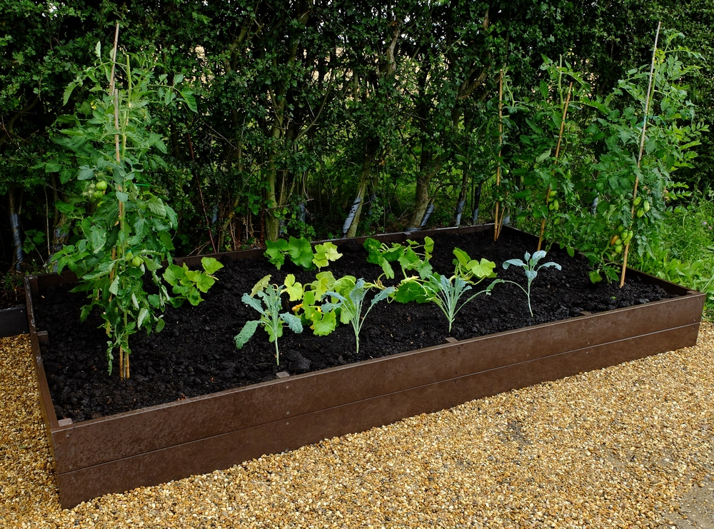 Raised Growing Bed 1m x 3m x 30cm Flat packed