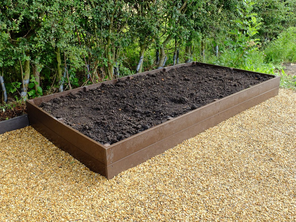 Raised Growing Bed 1.5m x 3m x 30cm Flat packed
